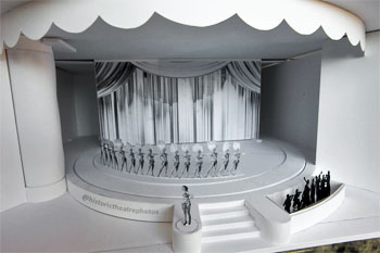 Model of the Earl Carroll Theatre in Hollywood, Los Angeles