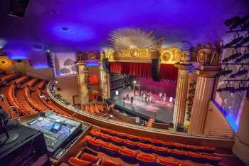 Alex Theatre, Glendale: Stage from Sound Booth