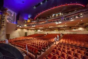 Alex Theatre, Glendale: Auditorium from Orchestra Pit Left