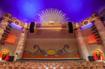 Alex Theatre, Glendale: Fire Curtain from center