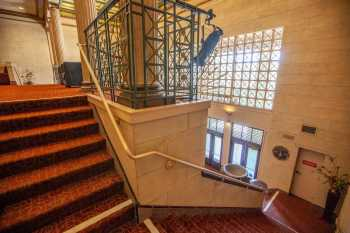 Alex Theatre, Glendale: Stairs to Balcony