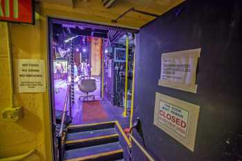 Alex Theatre, Glendale: Door to stage downstage right