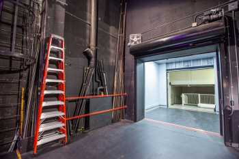 Alex Theatre, Glendale: Load-in Door and Elevator from Stage