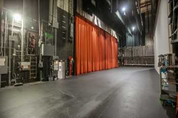Alex Theatre, Glendale: Stage from upstage left