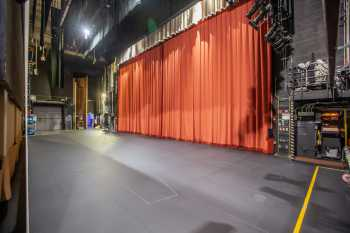 Alex Theatre, Glendale: Stage from upstage right