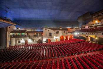 Arlington Theatre, Santa Barbara: Auditorium from House Left Side