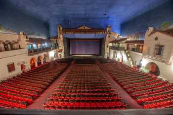 Arlington Theatre, Santa Barbara: Balcony Center