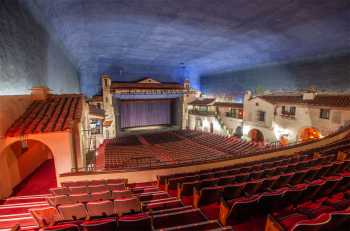 Arlington Theatre, Santa Barbara: Balcony from House Left