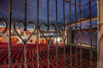 Arlington Theatre, Santa Barbara: Balcony Right Terrace
