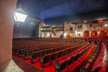 Arlington Theatre, Santa Barbara: Orchestra seating from House Left