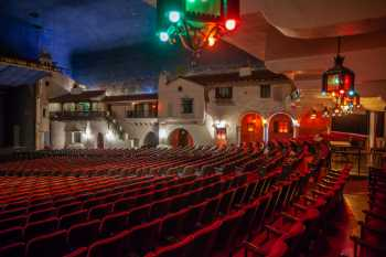Arlington Theatre, Santa Barbara: Rear Orchestra seating, from House Left