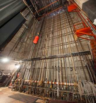 Arlington Theatre, Santa Barbara: Counterweight Wall Panorama