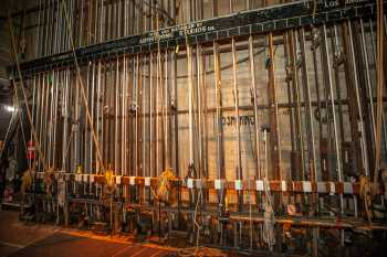 Arlington Theatre, Santa Barbara: Counterweight Lock Rail