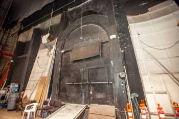Arlington Theatre, Santa Barbara: Loading Doors Upstage Center