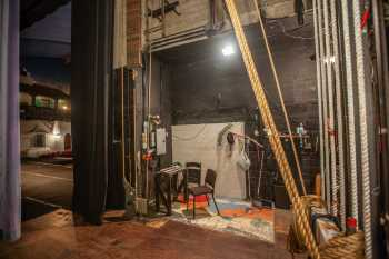 Arlington Theatre, Santa Barbara: Stage Right looking downstage