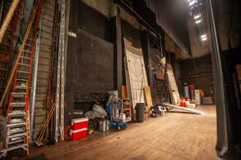 Arlington Theatre, Santa Barbara: Upstage Wall from Stage Right