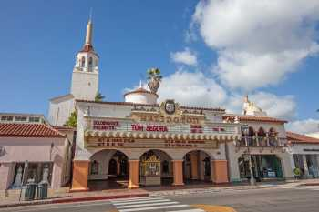 Arlington Theatre, Santa Barbara: Façade and Tower
