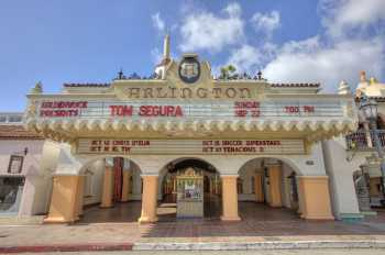 Arlington Theatre, Santa Barbara: Facade from street