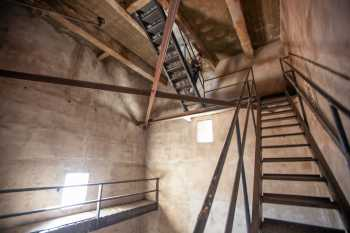 Arlington Theatre, Santa Barbara: Stairs inside the tower