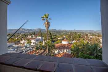 Arlington Theatre, Santa Barbara: View from Upper Terrace