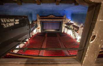 Arlington Theatre, Santa Barbara: Followspot
