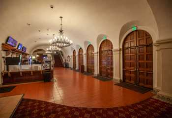 Arlington Theatre, Santa Barbara: Lobby, House Left side