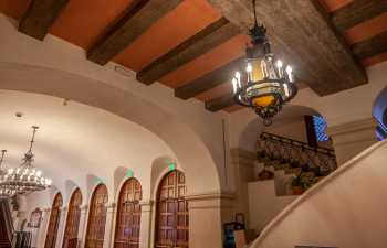 Arlington Theatre, Santa Barbara: Lobby, House Left side Closeup