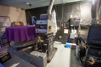 Arlington Theatre, Santa Barbara: 35mm Projector with platter system