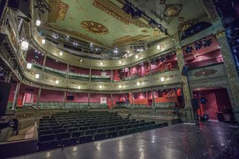 Theatre Royal, Bristol: Auditorium from Stage Left