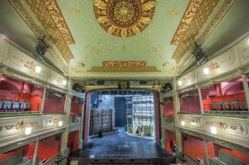 Theatre Royal, Bristol: Upper Circle center and ceiling