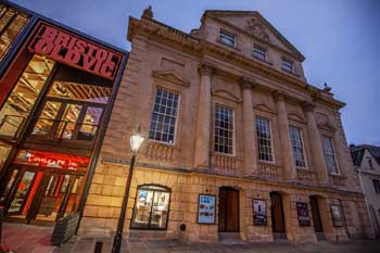 Theatre Royal, Bristol: Exterior At Night
