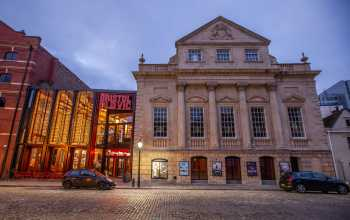 Theatre Royal, Bristol: Exterior by Night