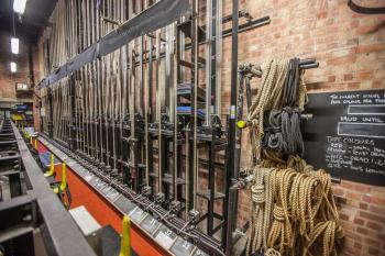 Theatre Royal, Bristol: Counterweight Lock Rail