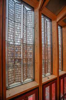 Theatre Royal, Bristol: Steel Panel Window Shades