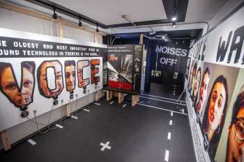 Theatre Royal, Bristol: Noises Off interactive exhibit