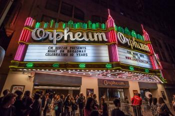 Broadway Historic Theatre District, Los Angeles: Marquee at the Orpheum Theatre