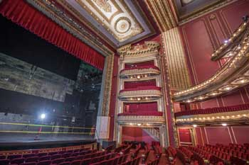 CIBC Theatre, Chicago: Auditorium House Right and Stage