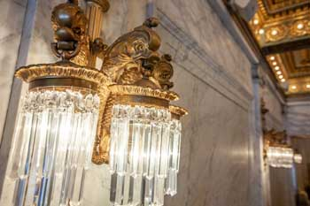 CIBC Theatre, Chicago: Lobby Lamp Closeup