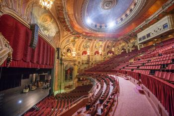 Chicago Theatre: Auditorium from Balcony Left