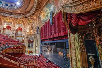 Chicago Theatre: Auditorium from Balcony Right