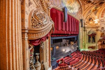 Chicago Theatre: Balcony Level Detail
