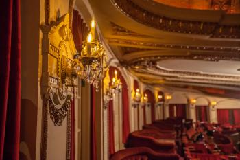 Chicago Theatre: Loge Level Detail