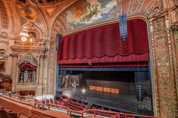 Chicago Theatre: Stage from Balcony Front
