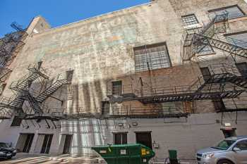 Chicago Theatre: Ghost Sign on Stagehouse Wall