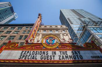 Chicago Theatre: Marquee in 2012
