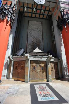 TCL Chinese Theatre, Hollywood: Entrance Doors
