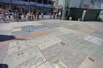 TCL Chinese Theatre, Hollywood: Imprints on Forecourt