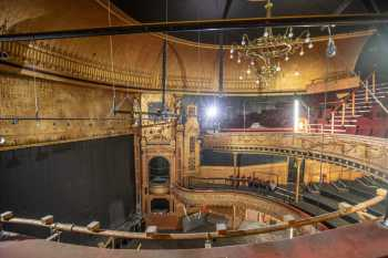 Citizens Theatre, Glasgow: Auditorium and Stage from Upper Circle Left
