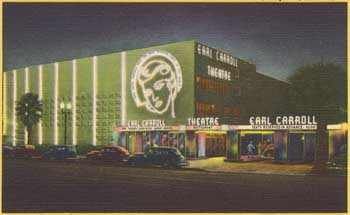 Late 1930s Exterior on Sunset Blvd