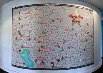 Earl Carroll Theatre, Hollywood: Beverly Hills Star Map